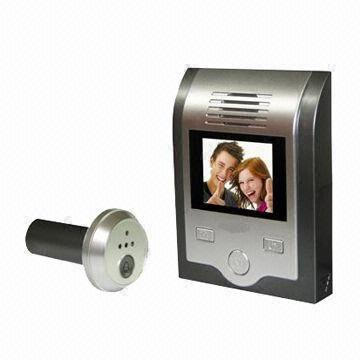 strong_style_color_b82220_peephole_strong_video_strong_style_color_b82220_door_strong_bell_with_2_inch_monitor_calendar_and_clock_