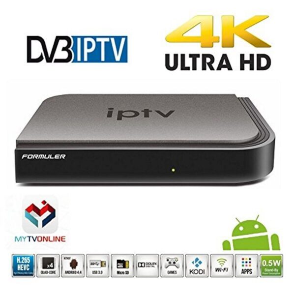 FORMULER IP TV BOX – KODI