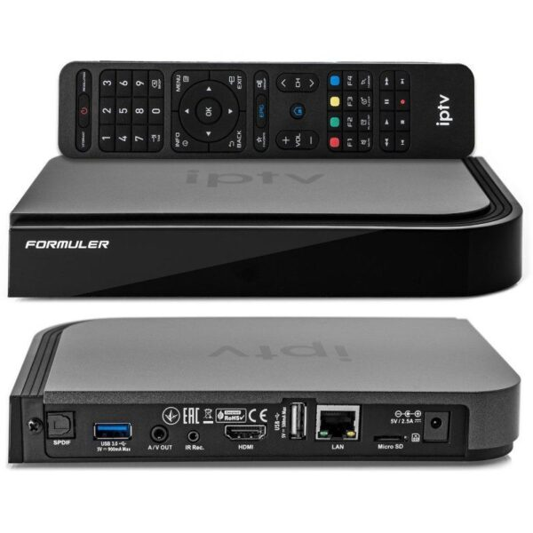 FORMULER TV BOX- KODI