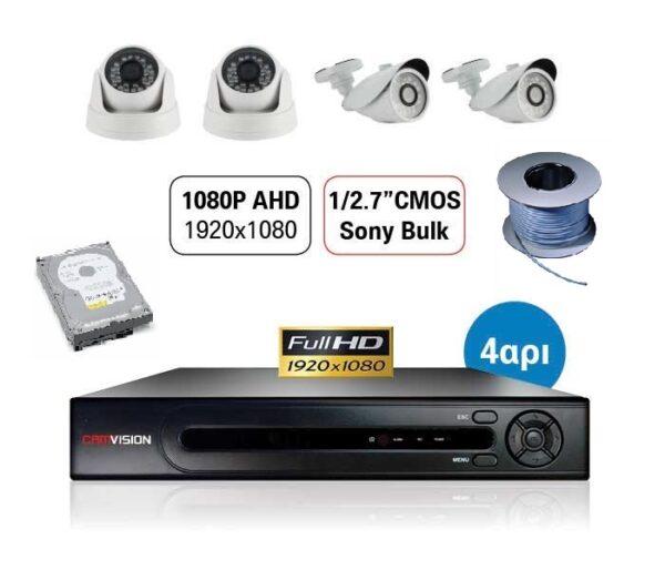 CAMVISION DVR FULL HD 1080P