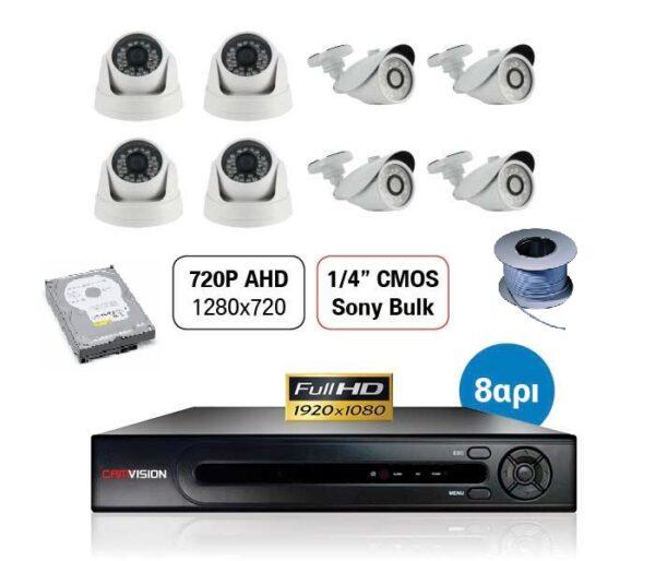 CCTV FULL KIT 720P keepmesafe.gr