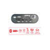 HVT BLUETOOTH-RADIO-USB-sd-with remote control SPEAKER WIRELESS keepmesafe.gr