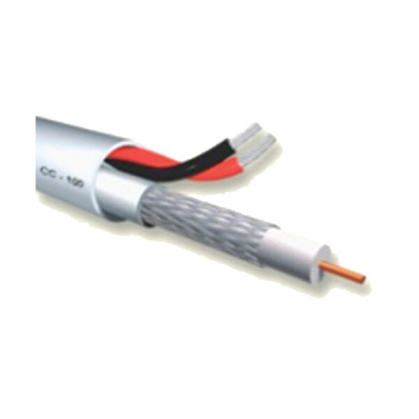 cctv cable 1xRG59 + 2×0.50 keepmesafe.gr