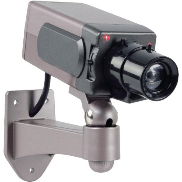 dummy 1 bullet camera with ir led keepmesafe.gr