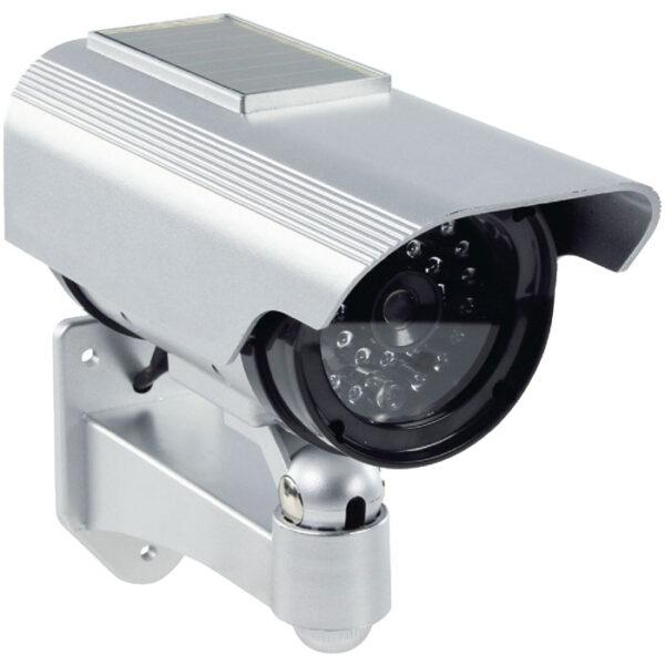 dummy bullet camera with solar ir led keepmesafe.gr
