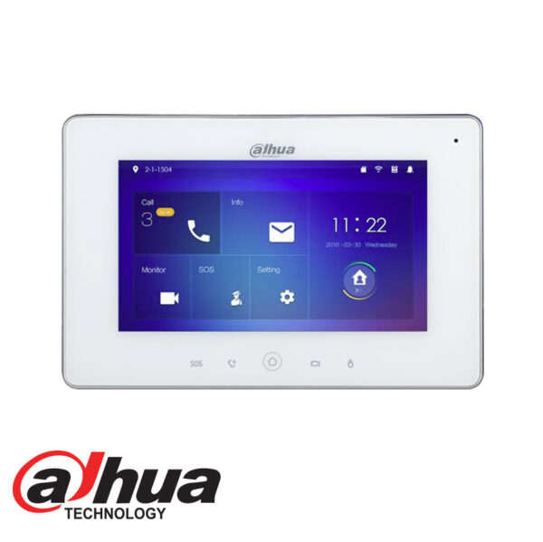 Indoor-722-Touch-Screen-LCD-Monitor-with-WIFI-DHI-VTH5221D