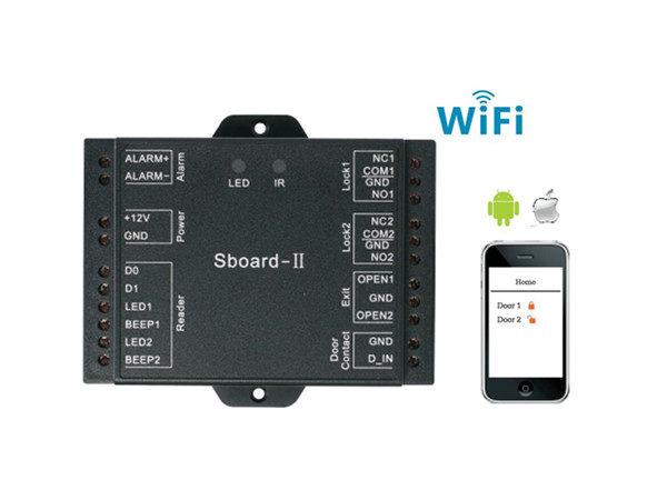 S BOARD II – WIFI Controller και διαχείριση μέσω APPLICATION keepmesafe.gr