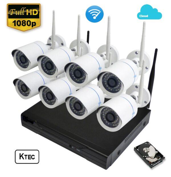 ktec wifi 8CHANNEL NVR KIT HD keepmesafe.gr 1 full hd