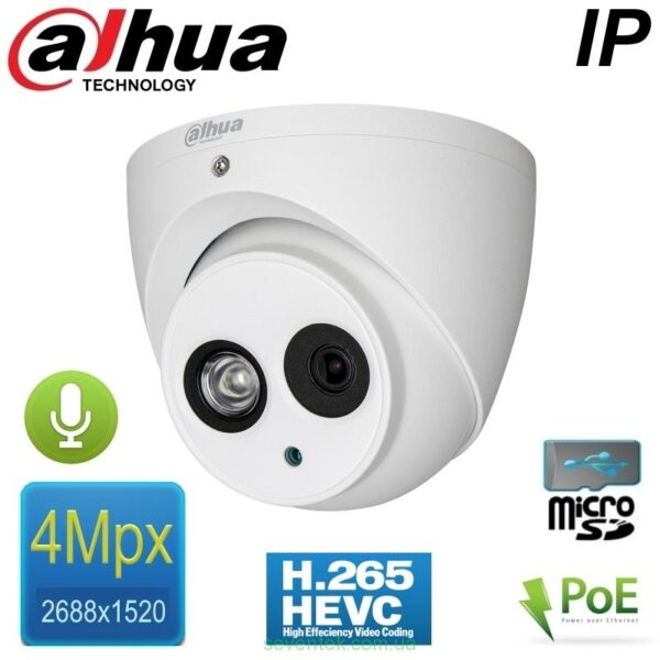 DAHUA_DH-IPC-HDW4431EMP DOME IP CAMERA