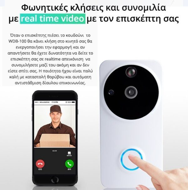 WDB 100 WIFI DOORPHONE EOS