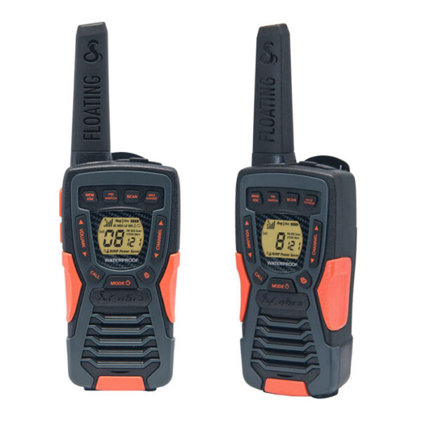 walkie talkie cobra waterproof