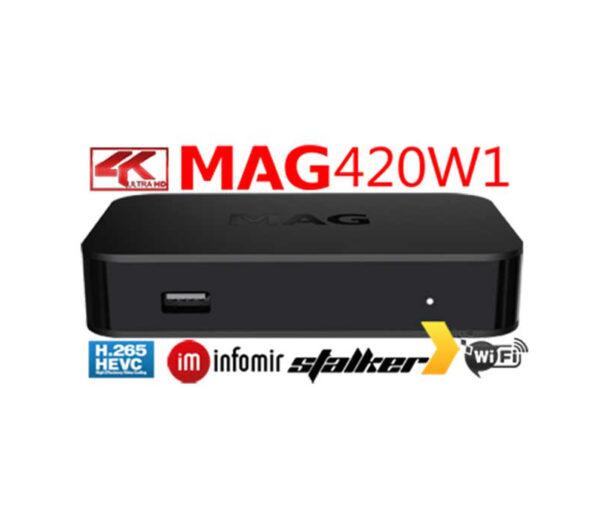 MAG 420W1 WIFI IP TV