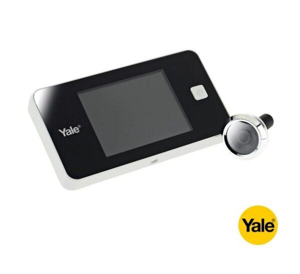 YALE Έξυπνο ηλεκτρονικό ματάκι DDV 500 Basic standard KIT Λευκό